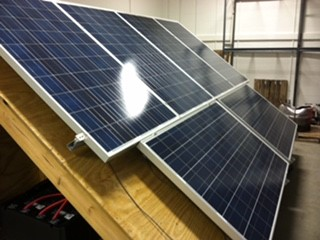 R David Parrish Electrical Services LLC - Solar panel installation